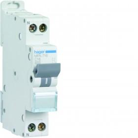 sdi envie2domotique Disjoncteur 1P+N 3KA C-16A HAGER electrique
