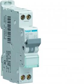 sdi envie2domotique Disjoncteur 1P+N 3KA C-20A HAGER electrique