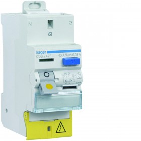 sdi envie2domotique Interrupteur différentiel 2P 40A 30mA type AC electrique
