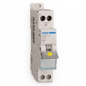 sdi envie2domotique Disjoncteur 1P+N 3kA C-32A electrique