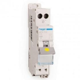 sdi envie2domotique Disjoncteur 1P+N 3kA C-2A electrique