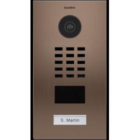sdi envie2domotique  Portier vidéo IP D2101BV DoorBird
