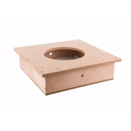 Boitier d'encastrement pour plafonds suspendus Loxone domotique est au meilleur prix sur https://boutique.sdi31.fr