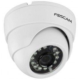 Caméra dôme compacte HD 720p infrarouge 10m Foscam FI9851PW https://boutique.sdi31.fr