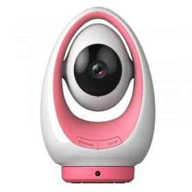 Caméra HD 720p infrarouge 5m chambre d'enfant Foscam FosBaby P1 Rose https://boutique.sdi31.fr