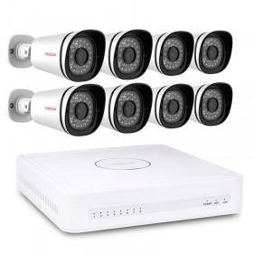 Foscam FN3108XE-B8-2T – Kit video surveillance numérique HD Foscam 8 caméras 720P https://boutique.sdi31.fr