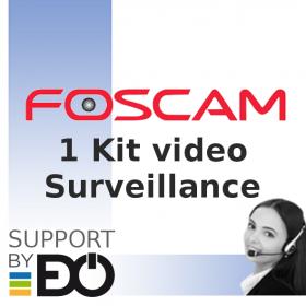 support kit vidéo-surveillance